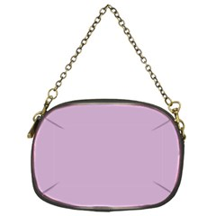 Pastel Color - Magentaish Gray Chain Purses (One Side)