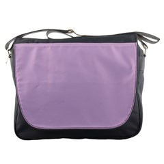 Pastel Color - Magentaish Gray Messenger Bags