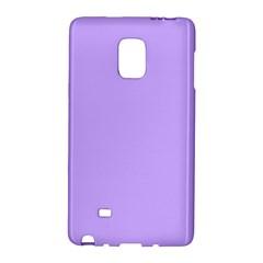 Pastel Color - Pale Blue Violet Galaxy Note Edge