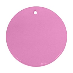 Pastel Color - Pale Cerise Ornament (Round)