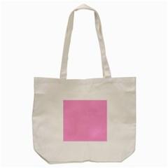 Pastel Color - Pale Cerise Tote Bag (Cream)