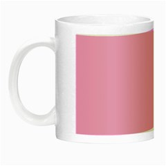 Pastel Color - Pale Cerise Night Luminous Mugs