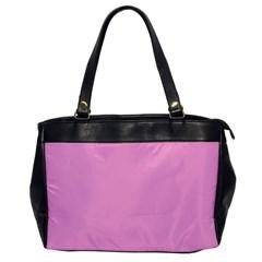 Pastel Color - Pale Cerise Office Handbags