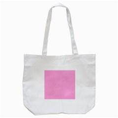 Pastel Color - Pale Cerise Tote Bag (White)