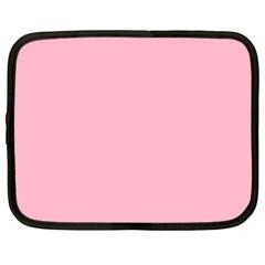 Pastel Color - Pale Crimson Netbook Case (Large)