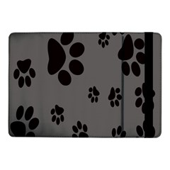 Dog Foodprint Paw Prints Seamless Background And Pattern Samsung Galaxy Tab Pro 10.1  Flip Case