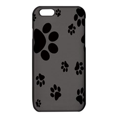 Dog Foodprint Paw Prints Seamless Background And Pattern iPhone 6/6S TPU Case
