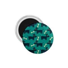 Happy Dogs Animals Pattern 1.75  Magnets