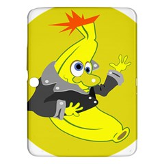 Funny Cartoon Punk Banana Illustration Samsung Galaxy Tab 3 (10.1 ) P5200 Hardshell Case
