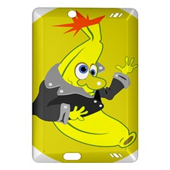 Funny Cartoon Punk Banana Illustration Amazon Kindle Fire HD (2013) Hardshell Case