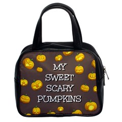 Hallowen My Sweet Scary Pumkins Classic Handbags (2 Sides)