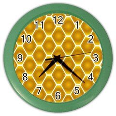 Snake Abstract Pattern Color Wall Clocks