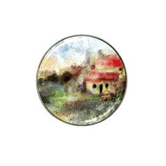 Old Spanish Village Hat Clip Ball Marker (4 pack)