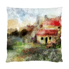 Old Spanish Village Standard Cushion Case (two Sides)