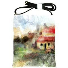Old Spanish Village Shoulder Sling Bags
