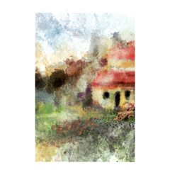 Old Spanish Village Shower Curtain 48  x 72  (Small)