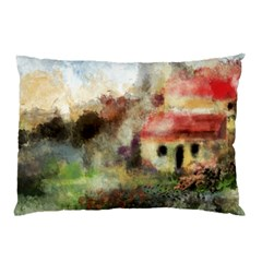 Old Spanish Village Pillow Case (two Sides)