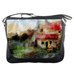 Old Spanish Village Messenger Bags