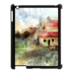Old Spanish Village Apple Ipad 3/4 Case (black)