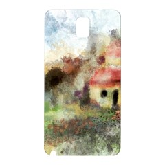 Old Spanish Village Samsung Galaxy Note 3 N9005 Hardshell Back Case