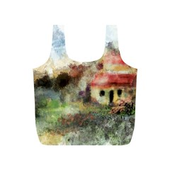 Old Spanish Village Full Print Recycle Bags (s)