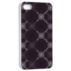 Abstract Seamless Pattern Background Apple iPhone 4/4s Seamless Case (White)