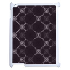 Abstract Seamless Pattern Background Apple iPad 2 Case (White)