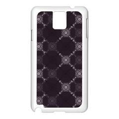 Abstract Seamless Pattern Background Samsung Galaxy Note 3 N9005 Case (White)
