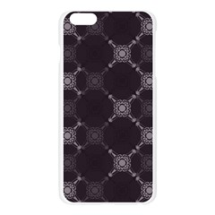 Abstract Seamless Pattern Background Apple Seamless iPhone 6 Plus/6S Plus Case (Transparent)