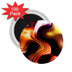 Colourful Abstract Background Design 2.25  Magnets (100 pack)