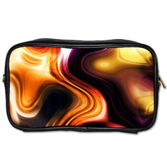 Colourful Abstract Background Design Toiletries Bags 2-Side