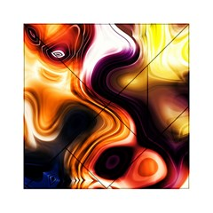 Colourful Abstract Background Design Acrylic Tangram Puzzle (6  x 6 )
