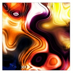 Colourful Abstract Background Design Large Satin Scarf (Square)