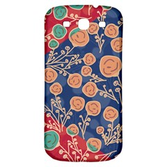 Floral Seamless Pattern Vector Texture Samsung Galaxy S3 S III Classic Hardshell Back Case