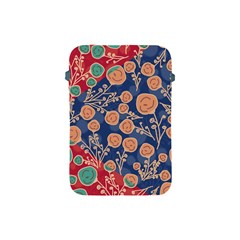 Floral Seamless Pattern Vector Texture Apple iPad Mini Protective Soft Cases