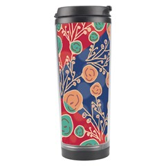 Floral Seamless Pattern Vector Texture Travel Tumbler