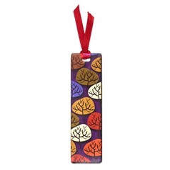 Colorful Trees Background Pattern Small Book Marks