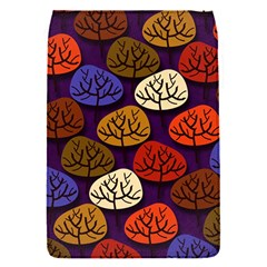 Colorful Trees Background Pattern Flap Covers (S)