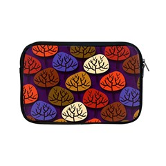 Colorful Trees Background Pattern Apple iPad Mini Zipper Cases