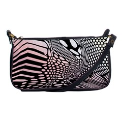 Abstract Fauna Pattern When Zebra And Giraffe Melt Together Shoulder Clutch Bags