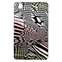 Abstract Fauna Pattern When Zebra And Giraffe Melt Together Samsung Galaxy Tab Pro 8.4 Hardshell Case