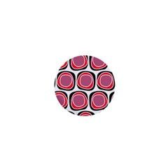 Wheel Stones Pink Pattern Abstract Background 1  Mini Magnets