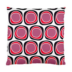 Wheel Stones Pink Pattern Abstract Background Standard Cushion Case (One Side)