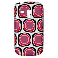 Wheel Stones Pink Pattern Abstract Background Galaxy S3 Mini