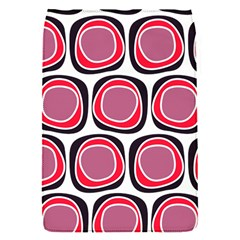 Wheel Stones Pink Pattern Abstract Background Flap Covers (S)