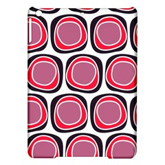 Wheel Stones Pink Pattern Abstract Background iPad Air Hardshell Cases