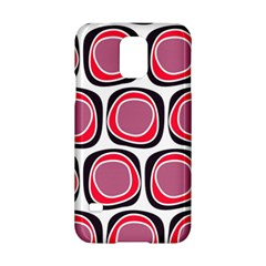 Wheel Stones Pink Pattern Abstract Background Samsung Galaxy S5 Hardshell Case