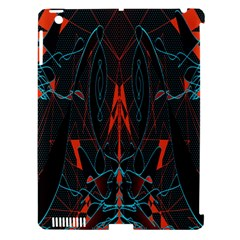 Doodle Art Pattern Background Apple iPad 3/4 Hardshell Case (Compatible with Smart Cover)