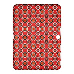 Floral Seamless Pattern Vector Samsung Galaxy Tab 4 (10.1 ) Hardshell Case
