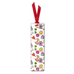 Cute Doodle Wallpaper Pattern Small Book Marks